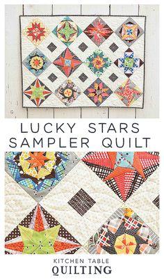 Lucky Stars Sampler Quilt