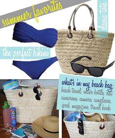 Bikinis, Sunglasses, Straw Bags!!