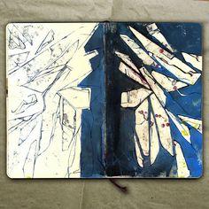 rougart drawing: SUBMARINE PLAN_Collage, 2015_Mariasun Salgado