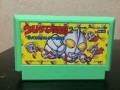 Ultraman Clube 2 Famicom Japan NTSC-J Family Computer Nintendo Bandai