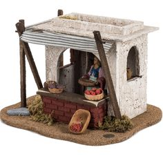 1 million+ Stunning Free Images to Use Anywhere Christmas Manger, Christmas Nativity Scene, Christmas Town, Small World Play, Santa Claus Is Coming To Town, Free To Use Images, Ceramic Houses, Doll Furniture, Miniture Things