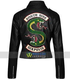 Men/'s Riverdale SOUTHSIDE Serpenti SLIM FIT Jughead Jones Giacca in Vera Pelle