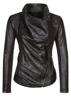 DashX Jasmine Women's Leather Jacket at Amazon Women's Coats Shop