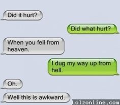 20 Did It Hurt When You Fell From Heaven Ideas Pick Up Lines Pick Up Lines Funny Pick Up Lines Cheesy