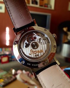 The back of my lovely Stowa watch!