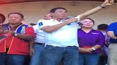 Duterte and Cayetano Speech In Dumaguete City Campaign Rally April 4 2016