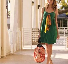 anthropologie catalog 2008 | seven palms dress – nothing like a light knit dress in the summer