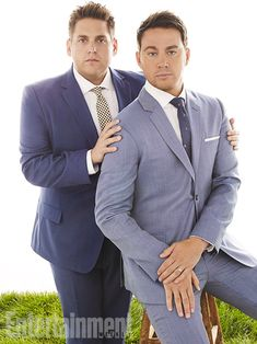 Jonah Hill, Channing Tatum, ... | Jonah Hill: ''We are a quote-unquote 'odd couple.' That dynamic is true of our relationship on-screen and off-screen. We are incredibly different, we come from