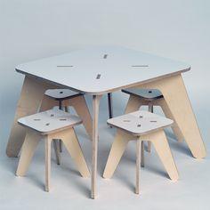 Skog Kids launches a new range of South African-made furniture for children. Kids Furniture, Furniture Making, Furniture Design, Metal Art Decor, Plywood Chair, Scandinavian Design, Wooden Boxes, Woodworking, Desk