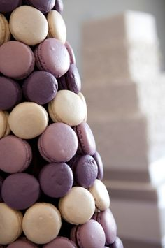 Purple macarons photography, Ñam!!!