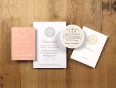 Seed Paper Wedding Invitations - The Marigold Suite
