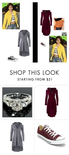 """""""Mom sit down. -Natsia // -frowns- I'm fine.. -Cori"""" by xxanimexloverxx ❤ liked on Polyvore featuring Converse"""