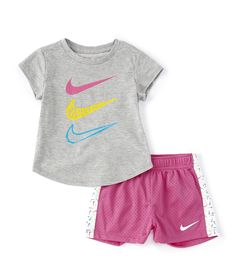 Cute Outfits For Kids, Toddler Girl Outfits, Cool Outfits, Nike Baby Clothes, Baby Girl Fashion, Fashion Children, Baby Girl Nike, Little Boy Haircuts, Baby Girl Skirts