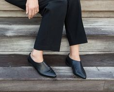 Formal Shoes For Ladies, Evening Shoes Flats, Slip On Shoes, Black Leather Shoes, Women Leather Booties, Leather Booties by KatzAndBirds on Etsy https://www.etsy.com/au/listing/244818328/formal-shoes-for-ladies-evening-shoes