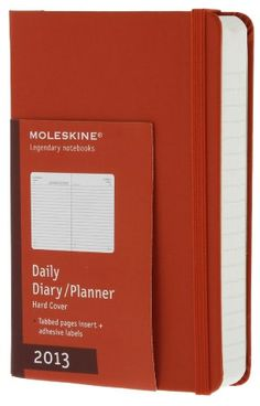 2013 Daily Planner - Pocket - Hard Red Cover