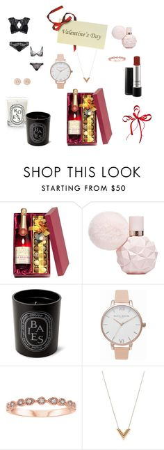 """Valentin´s Day"" by aburguesita on Polyvore featuring Diptyque, Olivia Burton, Louis Vuitton and Nam Cho"