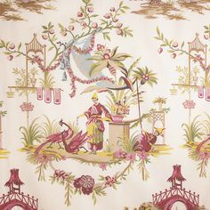 """Folie Chinoise"" Suzanne Rheinstein's collection for Lee Jofa"