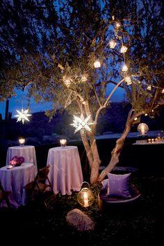 Starry Night Wedding Theme | Wedding Decoration. http://simpleweddingstuff.blogspot.com/2014/02/starry-night-wedding-theme.html
