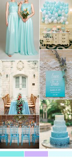 tulle blue bridesmaid dresses for blue fall wedding 2015 #fallweddings
