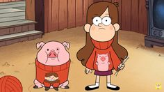 Are You Dipper or Mabel from Gravity Falls? Mabel Pines Sweaters, Mabel Sweater, Disney On Ice, Disney Xd, Monster Falls, Mermaid Background, Desenhos Gravity Falls, Gavity Falls, Dipper And Mabel