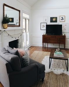 Mix of new and old living space