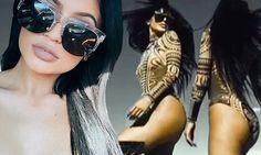 Kylie Jenner denies plastic surgery rumors as she poses in bodysuit