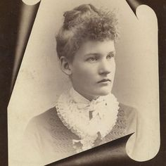 Victorian Cabinet Photo Handsome Young Lady Mourning Portrait Elmira New York