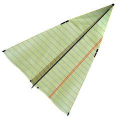Paper Airplane Kite design inspiration on Fab.