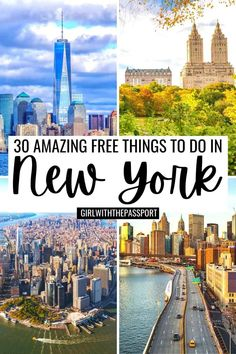 Free things to do in NYC | Free things to do in New York City | New York City things to do in | NYC on a budget | NYC on a Budget | NYC Attractions | NYC Tourist Attractions | NYC Bucket List | Best Places to Visit in NYC | Best Places to Visit in New York City | New York City Photo Spots | NYC Itinerary | New York City Bucket List | Best things to do in NYC | Photo Spots in NYC | Top Photo Spots in NYC | NYC Travel Tips | NYC Travel Guide | New York City travel tips | New York City travel… Nyc Tourist Attractions, American Attractions, New York City Attractions, Travel Usa, Travel Tips, Travel Guides, Nyc Itinerary, Weekend In Nyc, New York City Photos