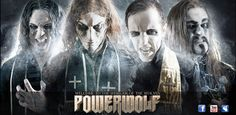 POWERWOLF - a Romanian/German Power Metal band that helps define my brand of Great New Metal! Glam Metal, Nu Metal, Power Metal Bands, Hard Rock Music, Metal Health, Goth Music, Death Metal, Pink Floyd, Music Stuff