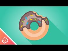 Inkscape Tutorial: Vector Donut - YouTube