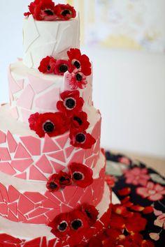 tile and poppy cake