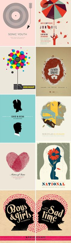 music band posters