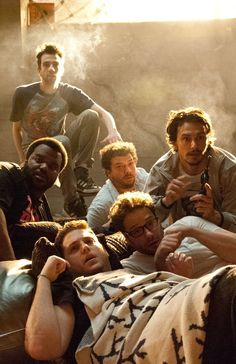 All my boys in THIS IS THE END. A movie that makes me happier than Klonopin. Almost...