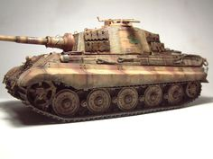 Tiger Ii, Bengal Tiger, Panzer, World War Two, Military Vehicles, Two By Two, German, King, Models