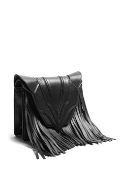 Felina Cross Body Bag with Fringing by Elena Ghisellini