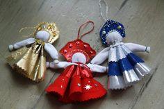 russian traditional cloth doll handmade bell por LibelluleDO