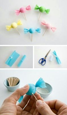 25 Diy Sweet Candy Décor Is there anyone that doesn't like candy? Awaken the child in you and make interesting candy decorations. You can make these - diy candy party decorations Craft Party, Diy Party, Party Favors, Colorful Candy, Candy Party, Candy Theme Cake, Candy Land Theme, Partys, Candy Shop