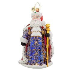 Christopher Radko Ornament - Fanciful Nicholas