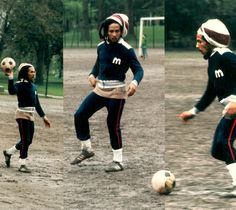 Bob Marley loved his footie