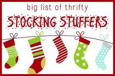 Big List of Stocking Stuffer Ideas