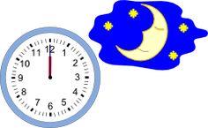 Mezzanotte con l'orologio