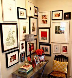 Gallery wall- the little black door
