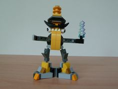 LEGO MIXELS SEISMO ZAPTOR MIX with Lego 41504 and Lego 41507 Mixels Serie 1
