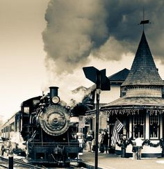 New Hope Train Station-check out john lasschuit's train bds- old steam trains is one bd, another is