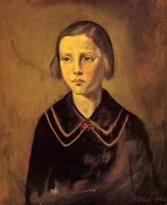 Balthus, 1956 Portrait of Therese
