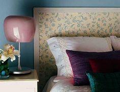 Cabeceros pintados en pinterest cabeceros dormitorio - Cabeceros de papel pintado ...