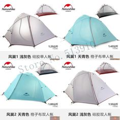 77.74$  Buy here - http://alioo1.worldwells.pw/go.php?t=32737663890 - NH wing 3season aluminum rod &2persons 210T/20D outdoor Tent Camping Hiking Tent double double wind rainproof light weight tent 77.74$