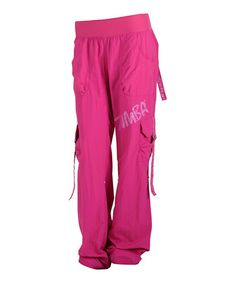 Take a look at this Mulberry Feelin' It Cargo Pants by Zumba® on #zulily today!