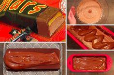 La recette du Mars géant pour un plaisir gourmand version XXL ! 5 (100%) 1 vote Si vous raffolez des Mars au chocolat, cette recette extrêmement originale proposée par Pause Cafein Food est faite pour vous! En effet, grâce à elle, vous allez apprendre à cuisiner la version XXL de cette célèbre barre chocolatée. Alors … Gelato, Biscuits, Food Porn, Pudding, Candy, Chocolate, Ethnic Recipes, Cake Recipes, Mars Chocolate